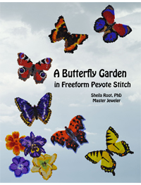 A Butterfly Garden in Freeform Peyote Stitch PDF version