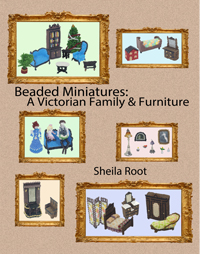 Beaded Miniatures: A Victorian Family & Furniture