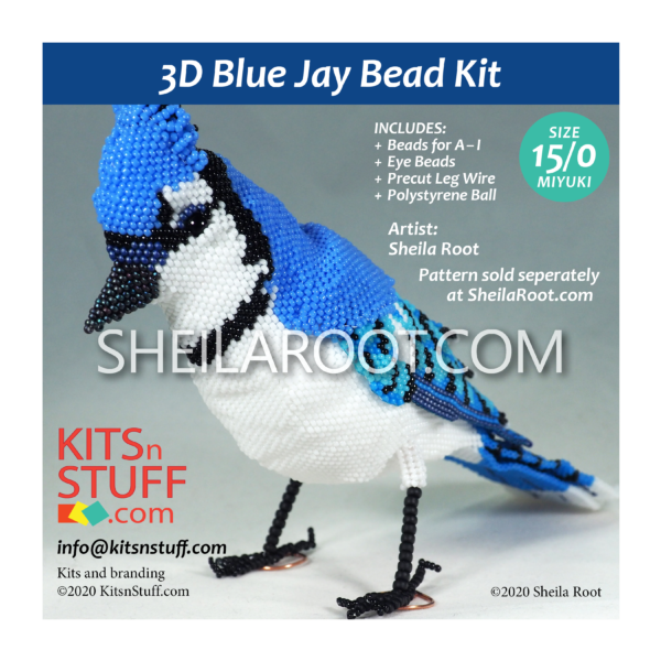Bead Kit for 3D Blue Jay