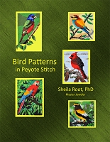 Bird Patterns in Peyote Stitch -PDF download