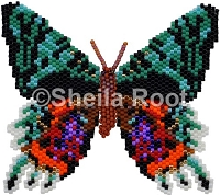 Sunset Moth PDF pattern